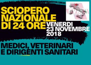 Sciopero nazionale e Solidarietà ai colleghi veterinari delle Asl del Veneto