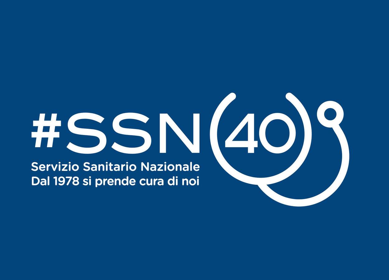 Un logo per i 40 anni del Servizio Sanitario Nazionale