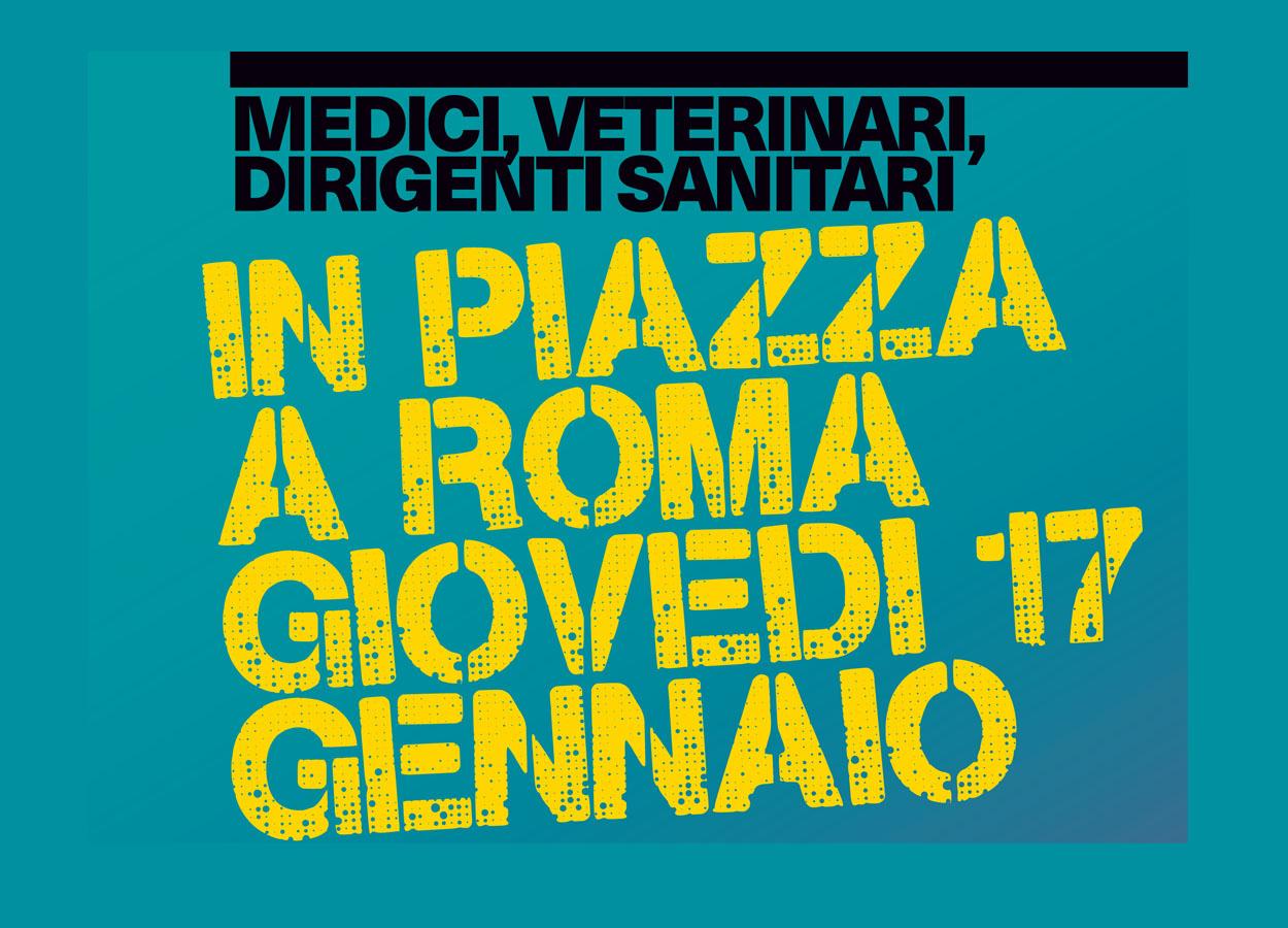 #ORABASTA! Manifestazione a Roma il 17 gennaio
