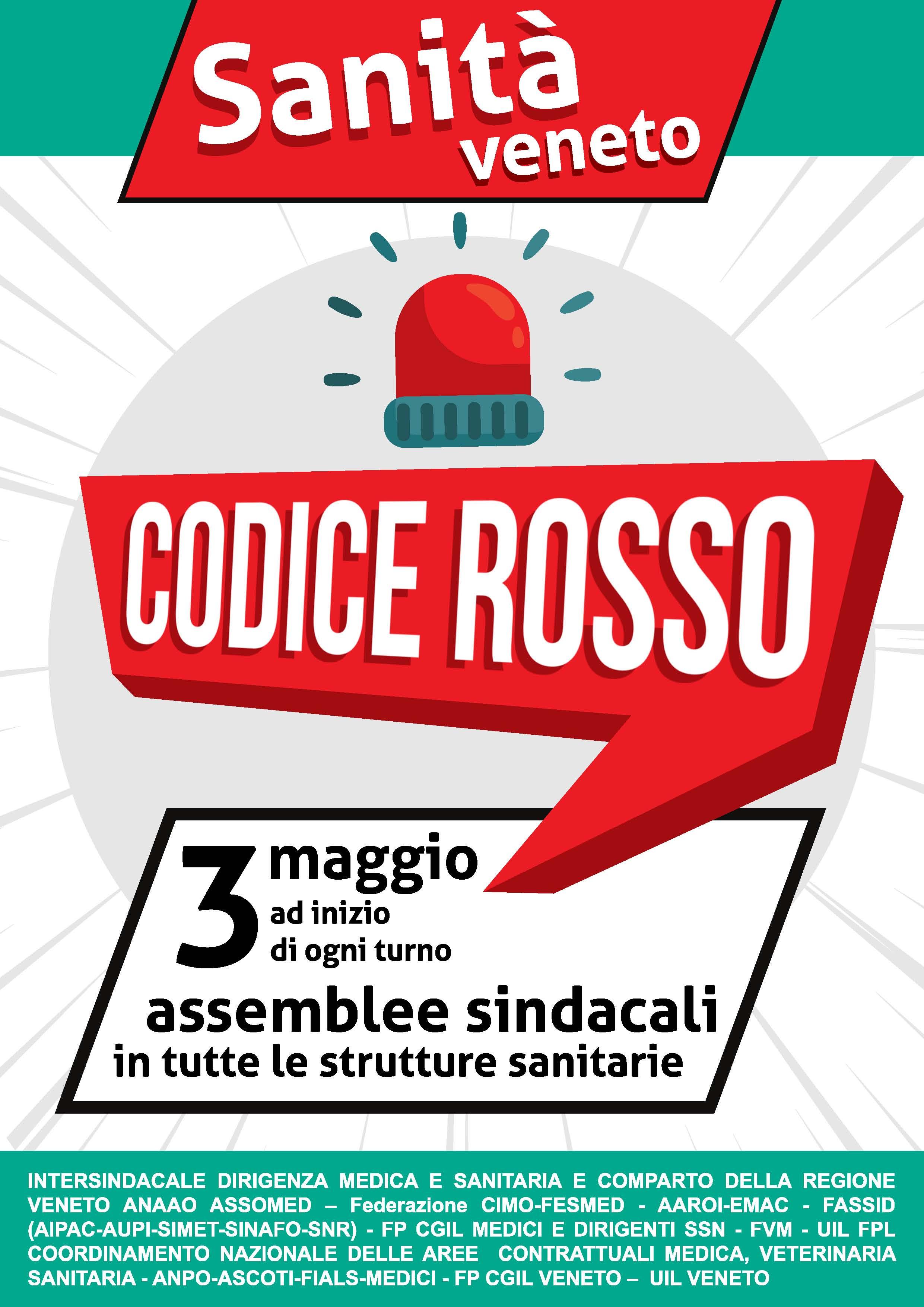 FVM Veneto: Sanità in #codicerosso