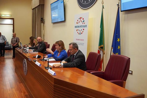 """#MaratonaPattoSalute, il ministro Grillo: """"grazie per essere qui, siete i pilastri del nostro Ssn"""""""