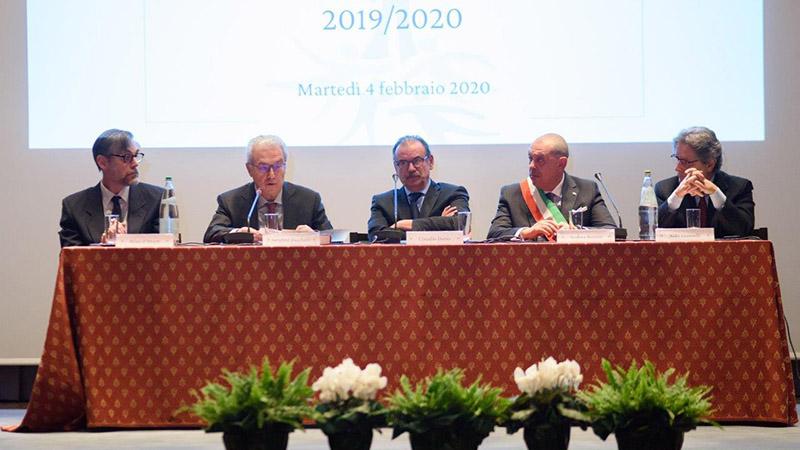 Inaugurato l'anno di studi 2019 2020 di ONAOSI. Merito e risorse le due parole chiave dell'attività della Fondazione.