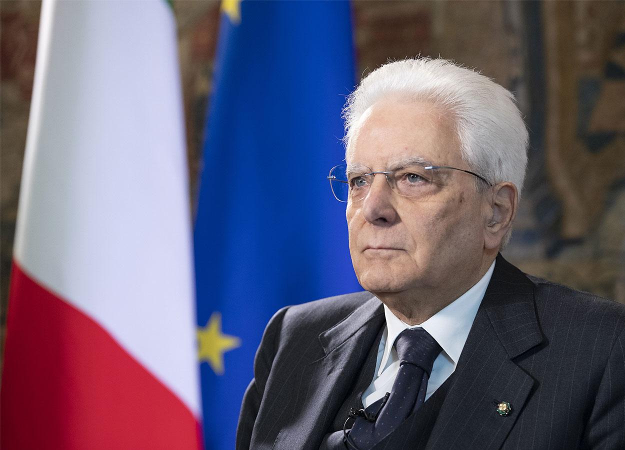 Mattarella: «Bergamo rappresenta l'intera Italia, il cuore della Repubblica»