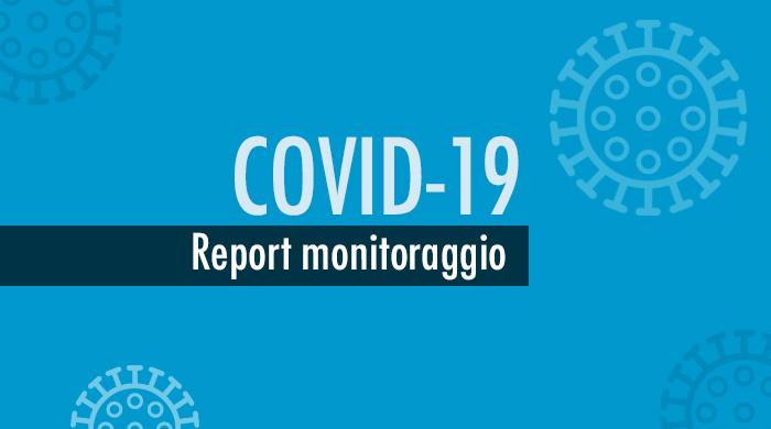 Report monitoraggio Covid-19, continua trend positivo