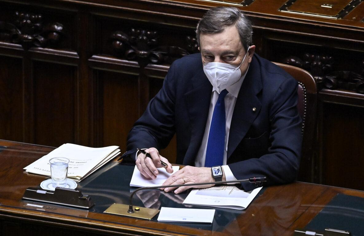 Le risposte del Presidente Draghi al Question time alla Camera