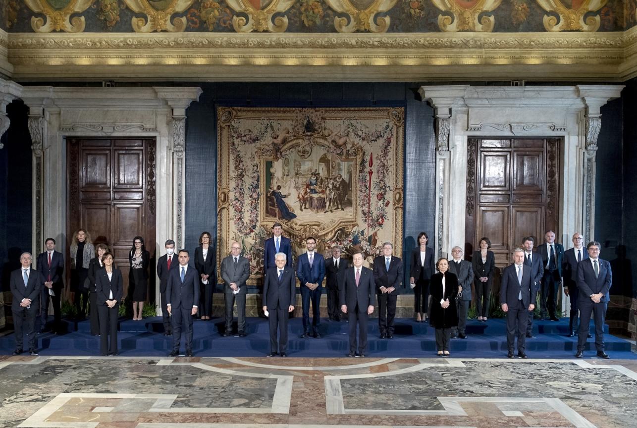 Al via il Governo Draghi, Speranza confermato alla guida del Ministero della salute