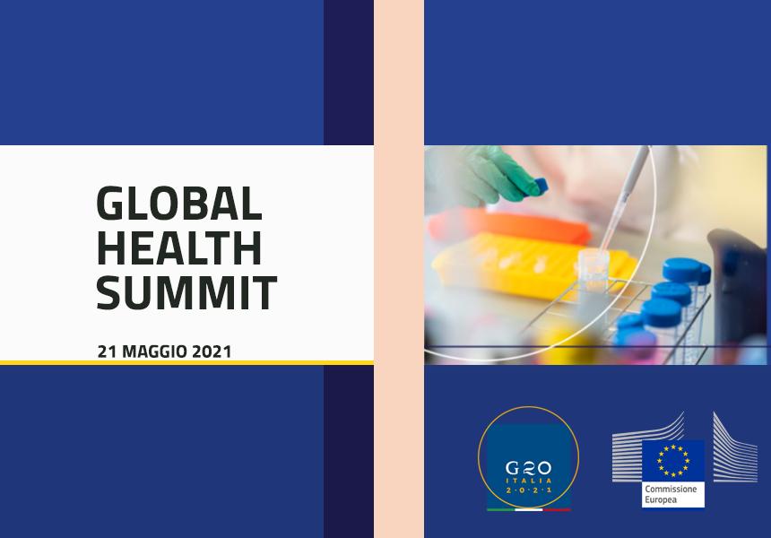 Global Health Summit il 21 maggio a Roma