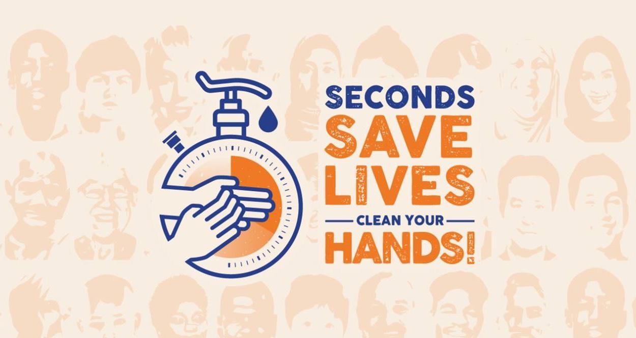 Pochi secondi possono salvare una vita: pulisci le tue mani!
